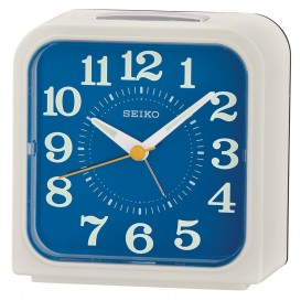 Seiko wekker Heren Chronograaf Zilverkleurig QHK048W