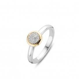 Ti Sento 12102ZY ring met zirkonia Maat 54 is 17.25mm