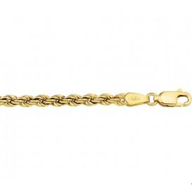 Armband Goud Koord 3,3 mm 18 cm