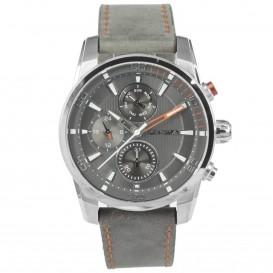 Prisma Horloge 1591 Heren Edelstaal Multi-functie Grijs P.1591 Herenhorloge 1