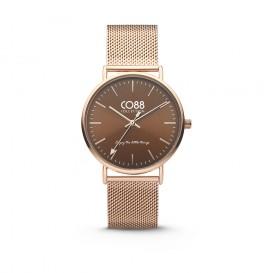 CO88 Collection 8CW-10011 - Horloge - Mesh - rosékleurig - 36 mm