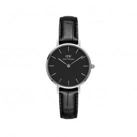 Daniel Wellington DW00100235 Classic Petite 28 mm Reading Black silver horloge