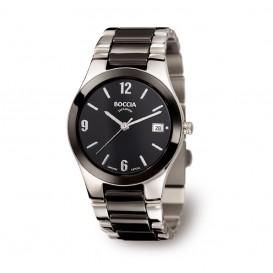 Boccia 3189-02 Titanium horloge met keramiek