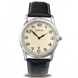 Sekonda Horloge 3017 Heren Leer Datum SEK.3017 Herenhorloge 1