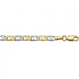 TFT Collier Bicolor Goud Anker 3,8 mm