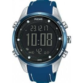 Pulsar Herenhorloge Digitaal Blauw P5A025X1