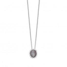 Rabinovich 53302056 zilveren maansteen collier