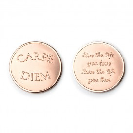 Mi Moneda CAR-03 Love - Carpe Diem rosekleurig Medium