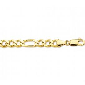 Armband Goud Figaro 4,9 mm 20 cm