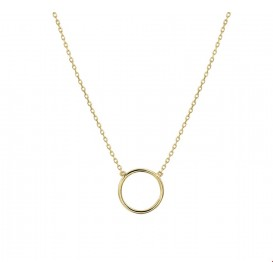 TFT Collier Geelgoud Rondje 0,8 mm 40 - 44 cm