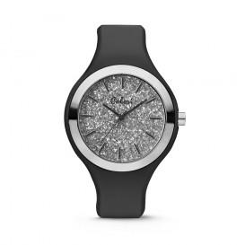Colori Horloge Macaron siliconen zwart 44 mm 5-COL514