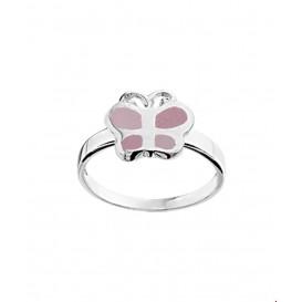 TFT Ring Vlinder Zilver