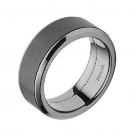 Fossil JF02368793 Mens Dress ring Maat 66 is 21mm