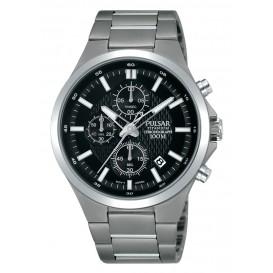 Pulsar Horloge chronograaf Titanium grijs PM3111X1