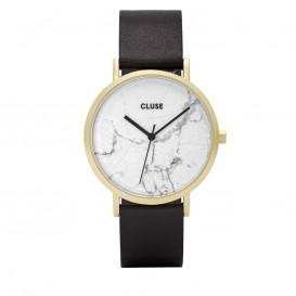 CLUSE CL40003 La Roche Gold White Marble Black horloge