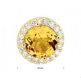TFT Hanger Geelgoud Diamant 0.10ct G VSI