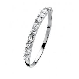 Zinzi ZIR827 zilveren ring Maat 58 is 18.5mm