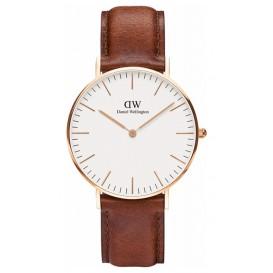 Daniel Wellington Horloge Classic St. Mawes rosé-cognac 36 mm DW00100035