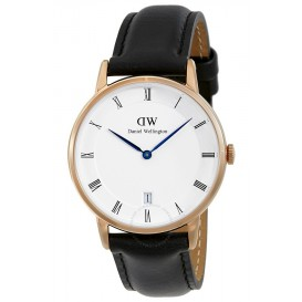 Daniel Wellington Horloge Dapper Sheffield rosé-black 36 mm DW00100092