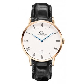 Daniel Wellington Horloge Dapper Reading rosé-black 40 mm DW00100107