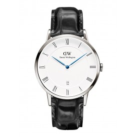 Daniel Wellington Horloge Dapper Reading silver-black 40 mm DW00100108