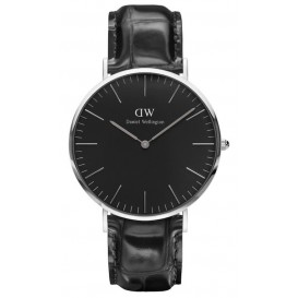 Daniel Wellington Horloge Classic Reading silver-black 40 mm DW00100135