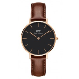 Daniel Wellington Horloge Petit St. Mawes black/rose 32 mm DW00100169