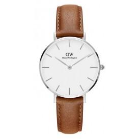 Daniel Wellington Horloge Classic Durham zilver-cognac 32 mm DW00100184