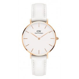 Daniel Wellington Horloge 'Petit Bondi' white/rose 32 mm DW00100189