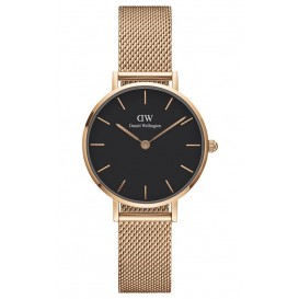 Daniel Wellington Horloge Classic Petite Melrose rosé-black 28 mm DW00100217