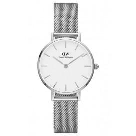 Daniel Wellington Horloge Classic Petite Sterling silver-white 28 mm DW00100220