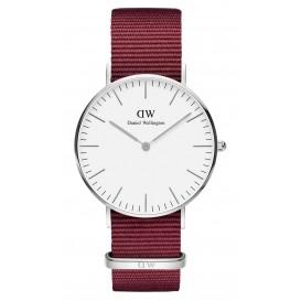 Daniel Wellington Horloge Classic Roselyn zilverkleurig-donkerrood 36 mm DW00100272