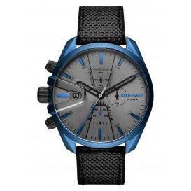 Diesel DZ4506 Horloge Ms9 Chrono zwart-blauw 48 mm