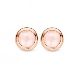 Ti Sento 7748LP Rosévergulde zilveren oorbellen