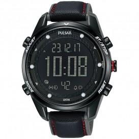 Pulsar P5A027X1 Digitaal Heren horloge