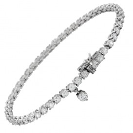 Diamonfire Zilveren Tennisarmband 19 Cm - Eternity Alliance 804.0061.19