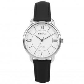 Prisma horloge 1970 dames edelstaal saffierglas 5 ATM P.1970 Dameshorloge 1