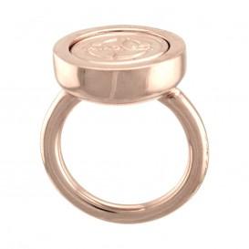 Mi Moneda RIN-DOL-03 Ring la Dolce VIta rosekleurig