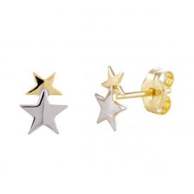 Glow Gouden Oorbellen kinder oorbellen Sterretjes 206.0453.00