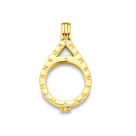 Mi Moneda PEN-NEN-02 Nena Munthouder zilver goudkleurig Small