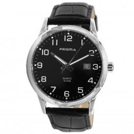 Prisma Horloge 1781.148H Heren Edelstaal P.1781 Herenhorloge 1