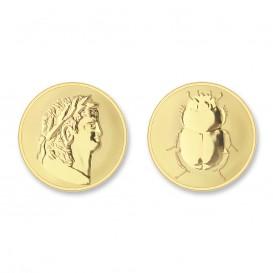 Mi Moneda ROM-02 Roman - Scarabee goudkleurig Small