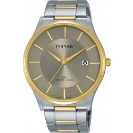 Pulsar Horloge staal zilver-goudkleurig PS9544X1