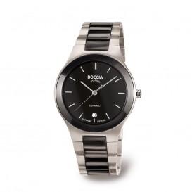 Boccia 3564-02 Titanium horloge met keramiek