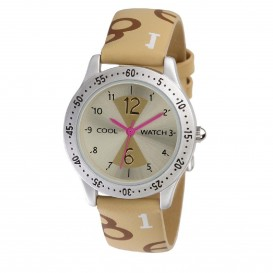 Coolwatch 101757 Digit Ivory CW.243 Dameshorloge