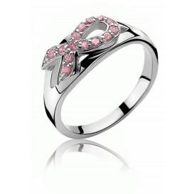 Zinzi ZIR560 ring Pink Ribbon Maat 56 is 17.75mm