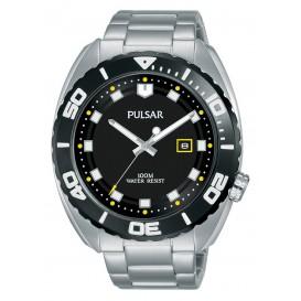Pulsar herenhorloge met gele accenten 44,5 mm PG8283X1