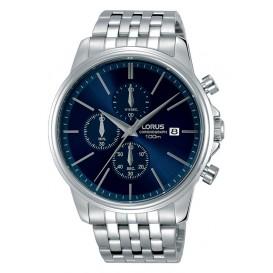 Lorus Herenhorloge Chronograaf Zilverkleurig RM323EX9