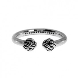 Buddha to Buddha Ring Refined Katja zilver 013