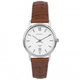 Prisma horloge 33A821007 Dames Classic Edelstaal Saffierglas P.2117 Dameshorloge 1